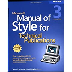 MS Manual for Style cover