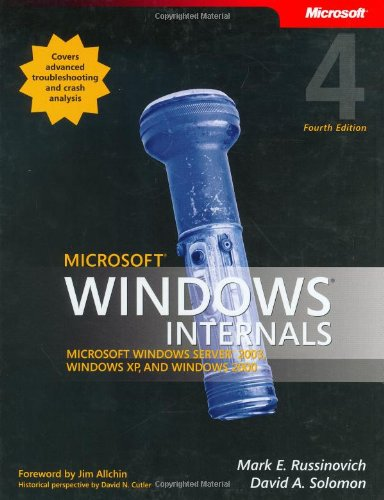Microsoft Windows Internals (4th Edition): Microsoft Windows Server 2003, Windows XP, and Windows 2000