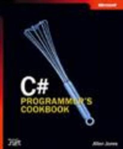 C# Programmer's Cookbook (Pro Developer)