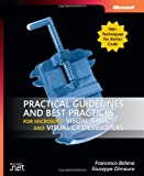 Practical guidelines and best practices for Microsoft Visual Basic and Visual C? developers