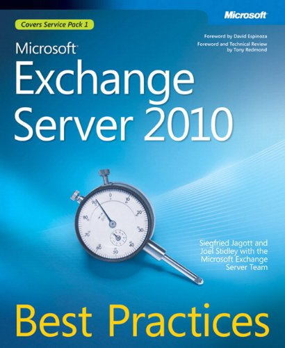 Microsoft Exchange Server 2010 Best Practices (Best Practices (Microsoft))