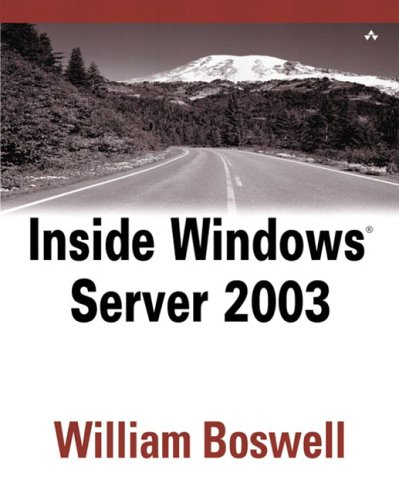 Book Cover: Inside Windows Server 2003 (2 Volume Set)