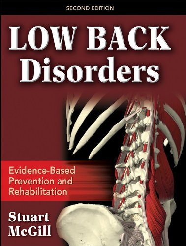 Low Back Disorders Book Cover Picture