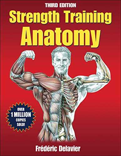 Strength Training Anatomy Book Cover Picture