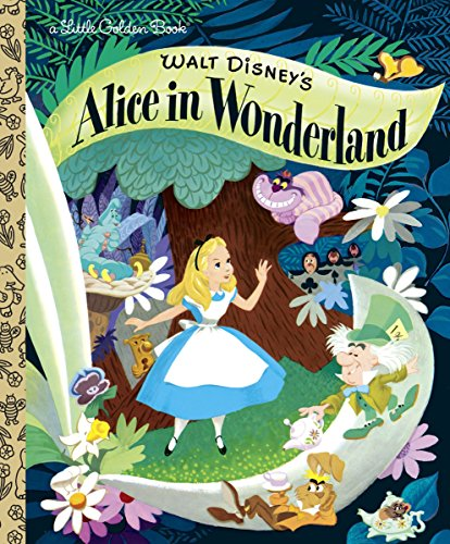 Walt Disney's Alice in Wonderland (Little Golden Books)
