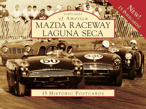 Mazda Raceway Laguna Seca, California (Postcards of America Series)