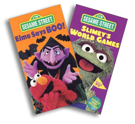 elmo says boo part 3 Elmo says boo elmo in happy holidays from sesame street 4 out of 5 based on 0 ratings this 3 part dvd is only good for elmo's world holiday dvd and elmo.