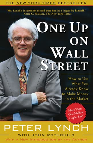 One Up On Wall Street Book Cover Picture