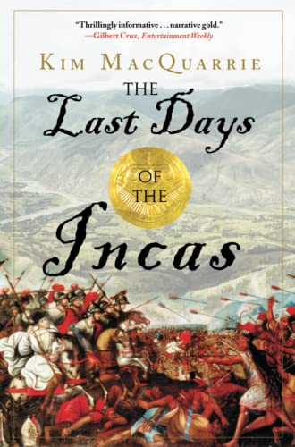 The Last Days of the Incas Book Cover Picture