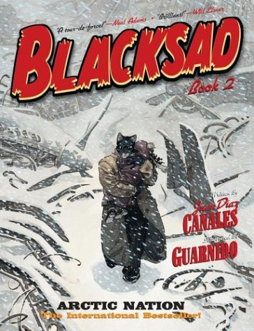 Blacksad: Arctic Nation cover