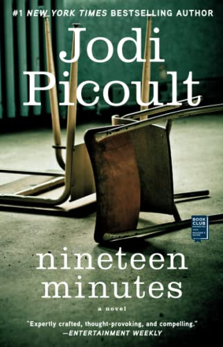 a review of nineteen minutes by jodi picoult Review: this is one of my favourite jodi picoult books to date, all though that list pretty much contains all her books, there hasn't been a jodi picoult book that i've disliked yet nineteen minutes is a very emotionally charged book.