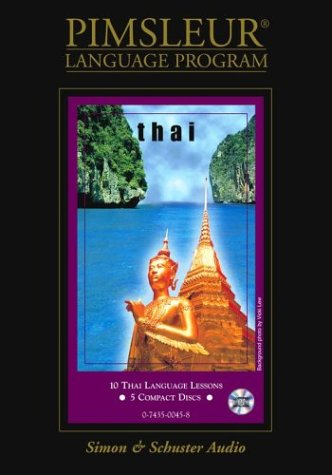 Pimsleur Compact Thai on CDs (Lessons 1-10)