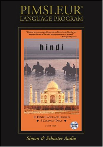 Pimsleur Compact Hindi on CDs
