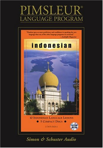 Pimsleur Compact Indonesian on CDs (Lessons 1-10)