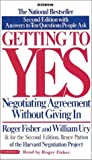 Buy Getting to Yes: How to Negotiate Agreements Without Giving In from Amazon
