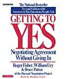 Buy Getting to Yes: How to Negotiate Agreement Without Giving In from Amazon