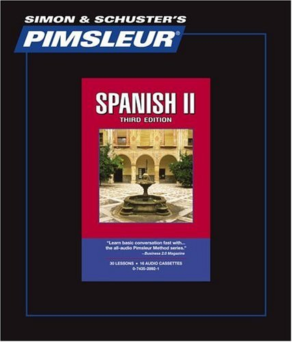 Pimsleur Comprehensive Spanish II on Cassettes