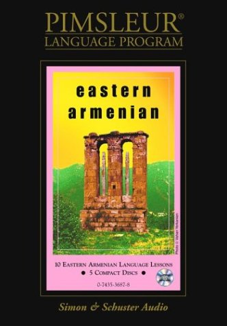 Pimsleur Compact Armenian (Eastern) on CD (Lessons 1-10)