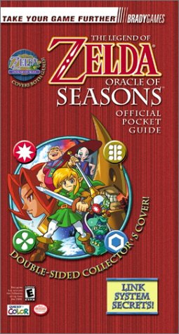 The Legend of Zelda: Oracle of Seasons & Oracle of Ages Official Pocket Guide by Tim Bogenn (Paperback)