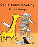 Book Cover: Carlo Likes Reading by Jessica Spanyol