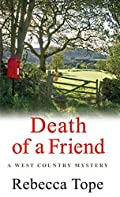 Death of a Friend by Rebecca Tope