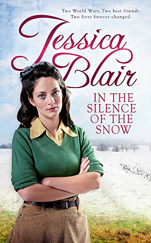 Book Silence of the Snow - a woman with a 40's hairstyle, with her arms folded in a rather hostile fashion, glaring at the reader.