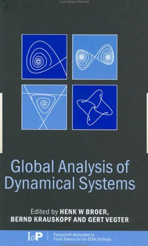 PDF Global Analysis of Dynamical Systems Festschrift dedicated to Floris Takens for his 60th birthday