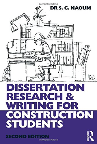 writing dissertation for construction students Dissertation research and writing for construction students is the only how-to guide for bsc and msc students covering topic selection, research planning and.