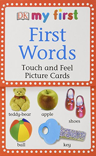 My First Touch & Feel Picture Cards: First Words (My 1st T&F Picture Cards) - DK
