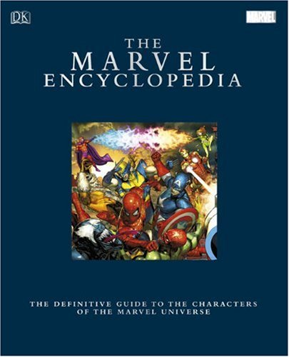 The Marvel Encyclopedia Limited Edition cover