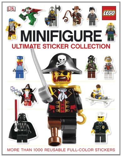 Ultimate Sticker Collection: LEGO® Minifigure (ULTIMATE STICKER COLLECTIONS)