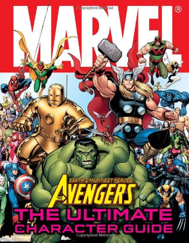 Avengers: The Ultimate Character Guide cover