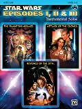 Star Wars Episodes I, II & III Instrumental Solos Book & CD