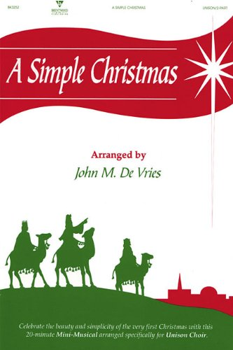 A Simple Christmas, DeVries, John M.