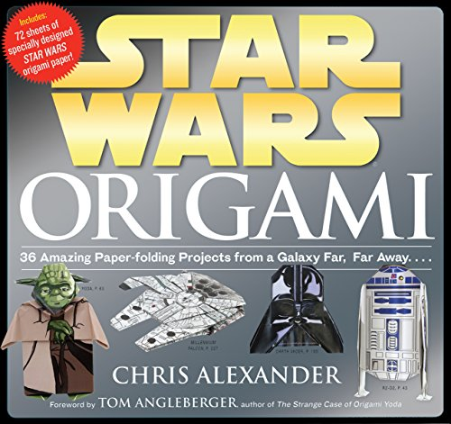 Star Wars Origami: 36 Amazing Paper-folding Projects from a Galaxy Far, Far Away.... - Tom Angleberger