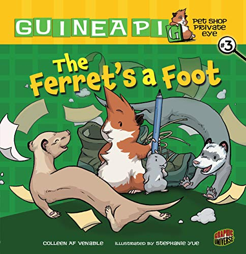 Guinea Pig: Pet Shop Private Eye: The Ferret a Foot cover
