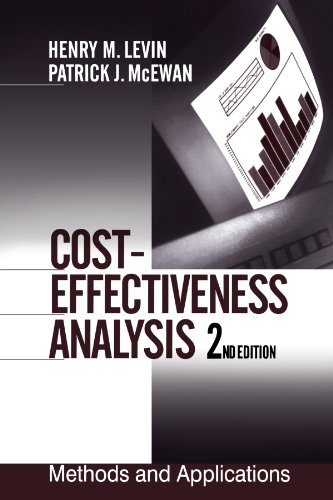 Cost-Effectiveness Analysis: Methods and Applications (1-Off Series), Levin, Henry M.; McEwan, Patrick J.