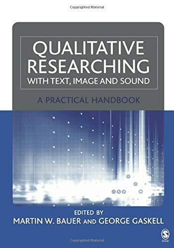 PDF Qualitative Researching with Text Image and Sound A Practical Handbook for Social Research