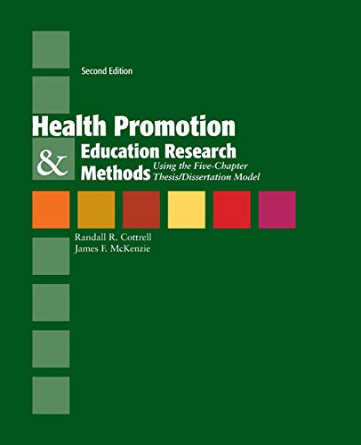 health promotion dissertation Definitions of health promotion and disease prevention and activities included in these types of programs.