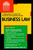 Business Law (Barron's Business Review Series)