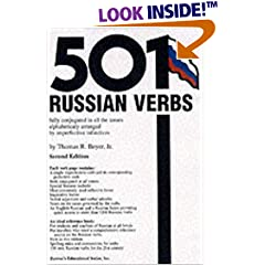 501 Russian Verbs: Fully Conjugated in All the Tenses Alphabetically Arranged