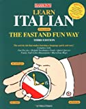 Learn Italian the Fast and Fun Way: With Italian-English English-Italian Dictionary : Food and Drink Guide, Wine List, Tips on Tipping (Fast and Fun Way)