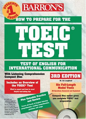 How to Prepare for the TOEIC Test (with CD-ROM)