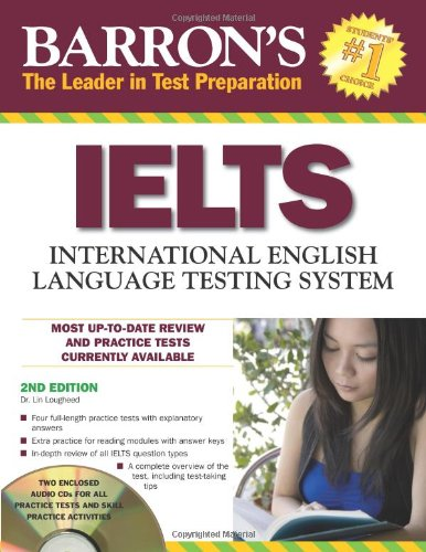 Barron's IELTS with Audio CDs: International English Language Testing System (Barron's Ielts: International English Language Testing System)