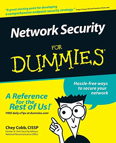 Network Security For Dummies - Chey Cobb