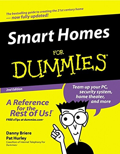 Smart Homes for Dummies, Second Edition