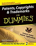 Buy Patents, Copyrights & Trademarks for Dummies from Amazon