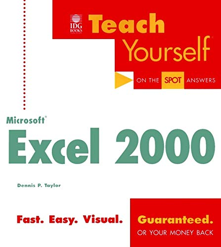 Teach Yourself Microsoft Excel 2000 - Dennis P. Taylor