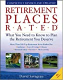 Buy Retirement Places Rated: What You Need to Know to Plan the Retirement You Deserve, Sixth Edition from Amazon
