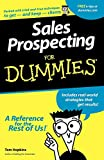 Buy Sales Prospecting For Dummies from Amazon
